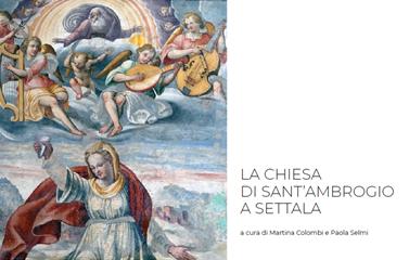 """Copertina del libro """"La chiesa di Sant'Ambrogio a Settala"""""""